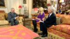 Video «Prinz Harry über seine baldige Rolle als Grossvater» abspielen