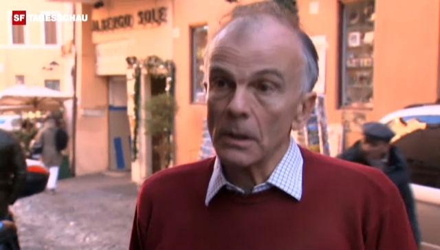 James Walston zu den Auswirkungen von Montis Rücktrittsankündigung (Originalsprache Englisch)