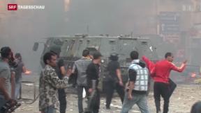 Video «Weitere Demonstrationen in Ägypten» abspielen