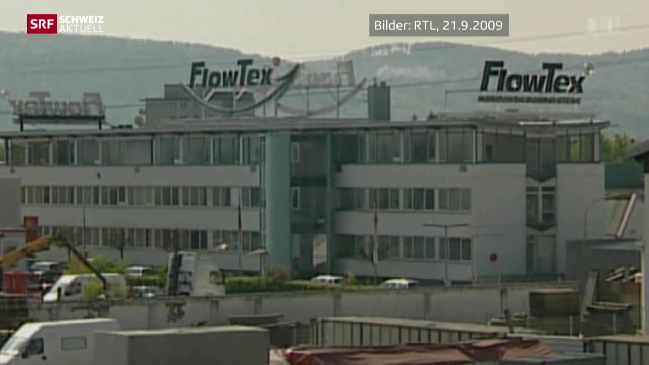 Flowtex-Skandal mit Nachspiel in der Schweiz