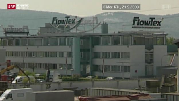 Video «Flowtex-Skandal mit Nachspiel in der Schweiz» abspielen