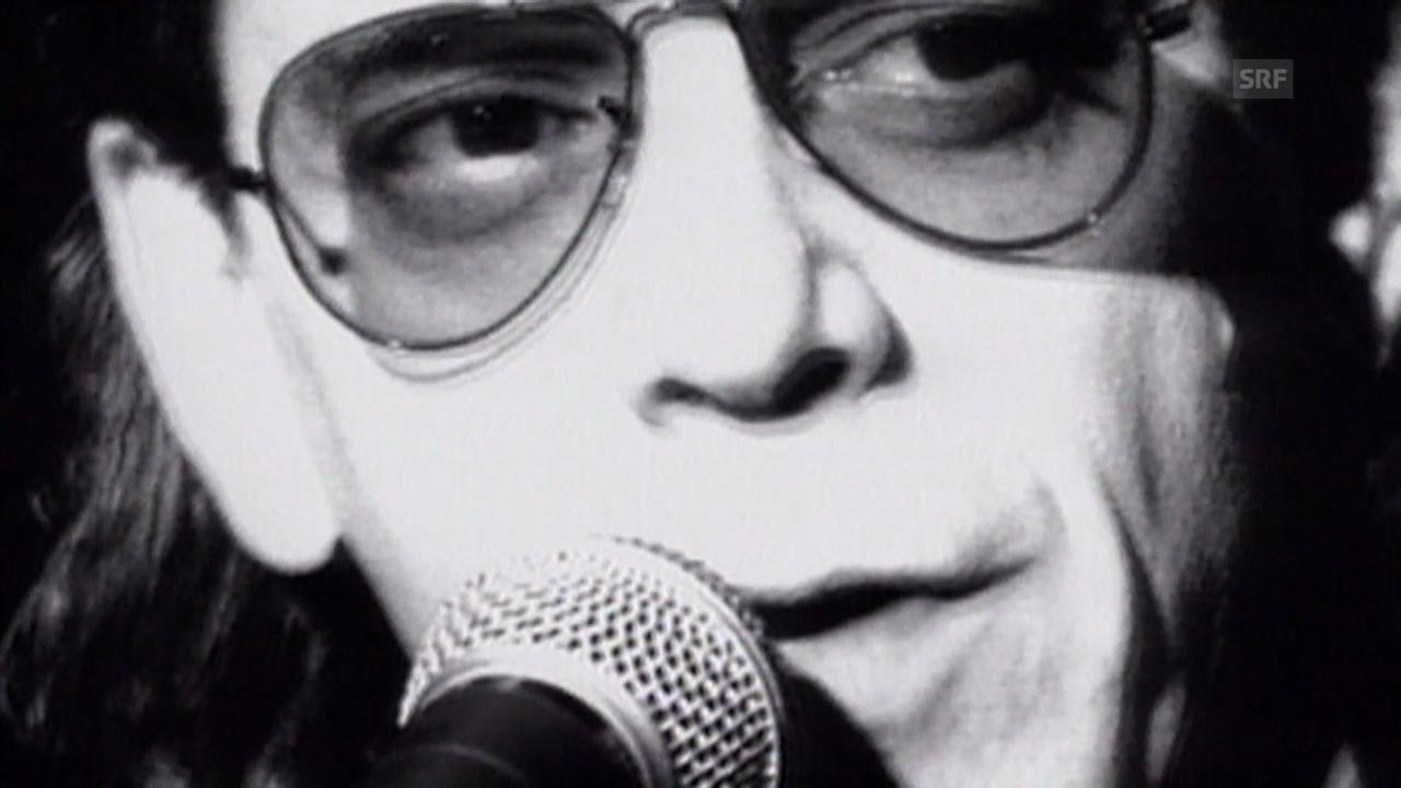 Die Kultfigur Lou Reed (10vor10 vom 25.07.1996)