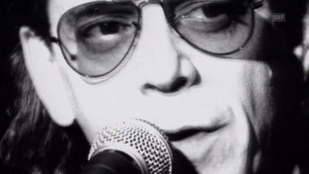 Video «Die Kultfigur Lou Reed (10vor10 vom 25.07.1996)» abspielen