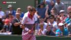 Video «Federer und Wawrinka eine Runde weiter» abspielen