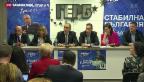 Video «Die ungewisse Zukunft der bulgarischen Regierung» abspielen
