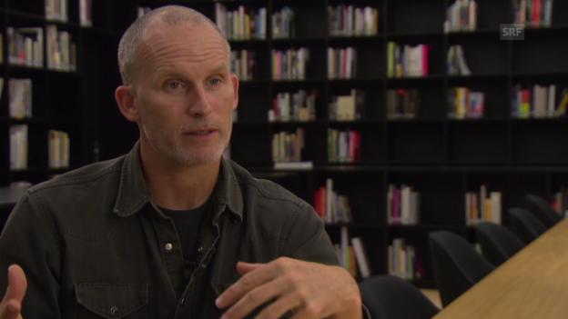 Video «Matthew Barney über das Reale und das Künstliche» abspielen