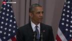 Video «Obamas Überzeugungskampf beim Atom-Abkommen» abspielen