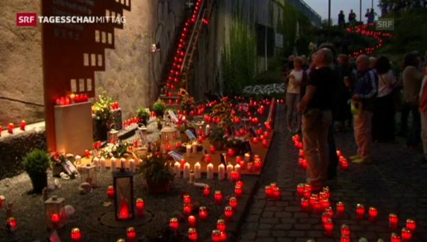 Video «Gedenken an Loveparade-Opfer» abspielen