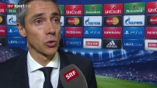 Video «Fussball: Champions League, Basel - Real Madrid, Interview mit Paulo Sousa» abspielen