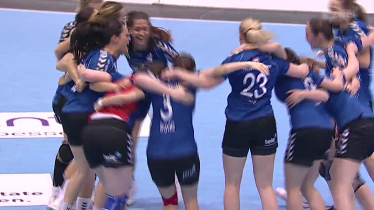 Handball: Cupfinal der Frauen in Sursee