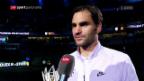 Video «Roger Federer: «London ist das grosse Ziel»» abspielen