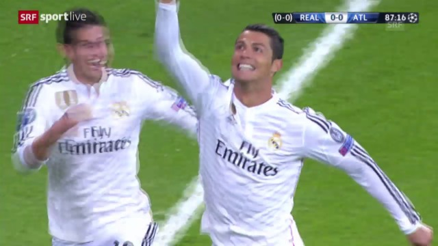 Champions League Real Madrid Besiegt Den Fluch Und Steht