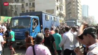 Video «Wieder blutige Proteste in Ägypten» abspielen