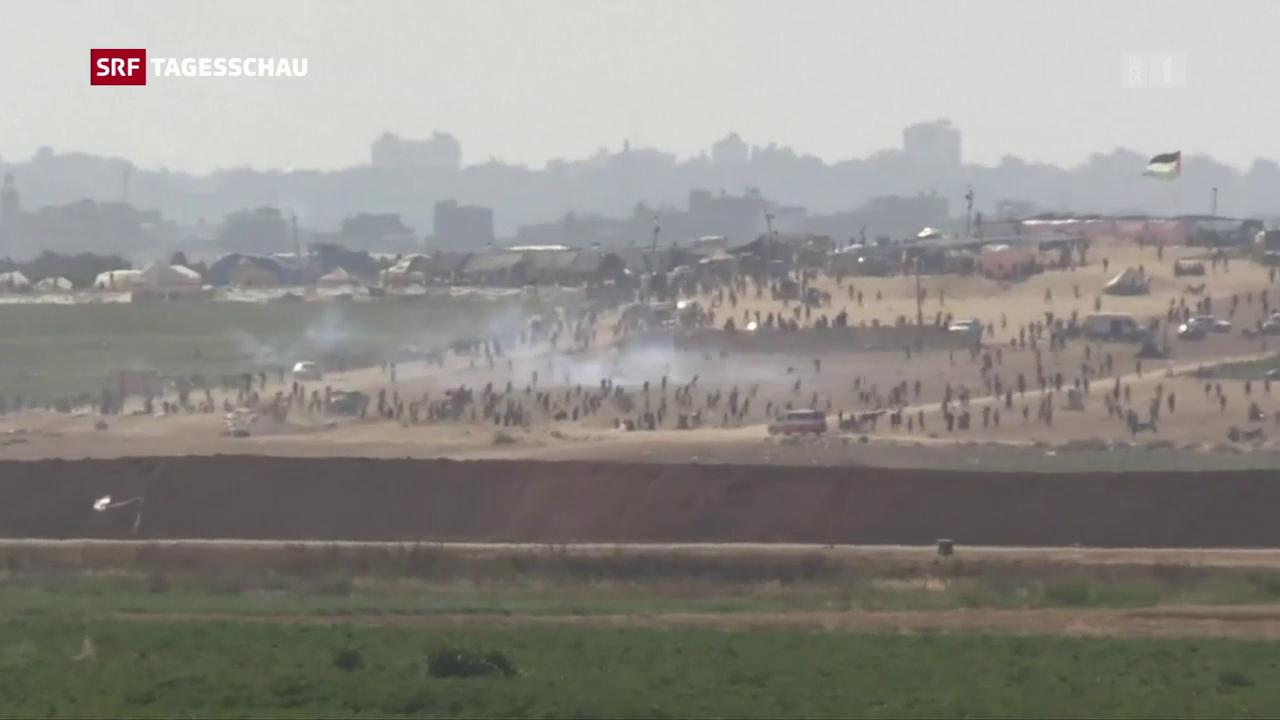 Ausschreitungen in Gaza