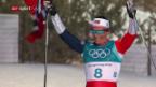 Video «Björgen krönt sich zur erfolgreichsten Winter-Olympionikin» abspielen