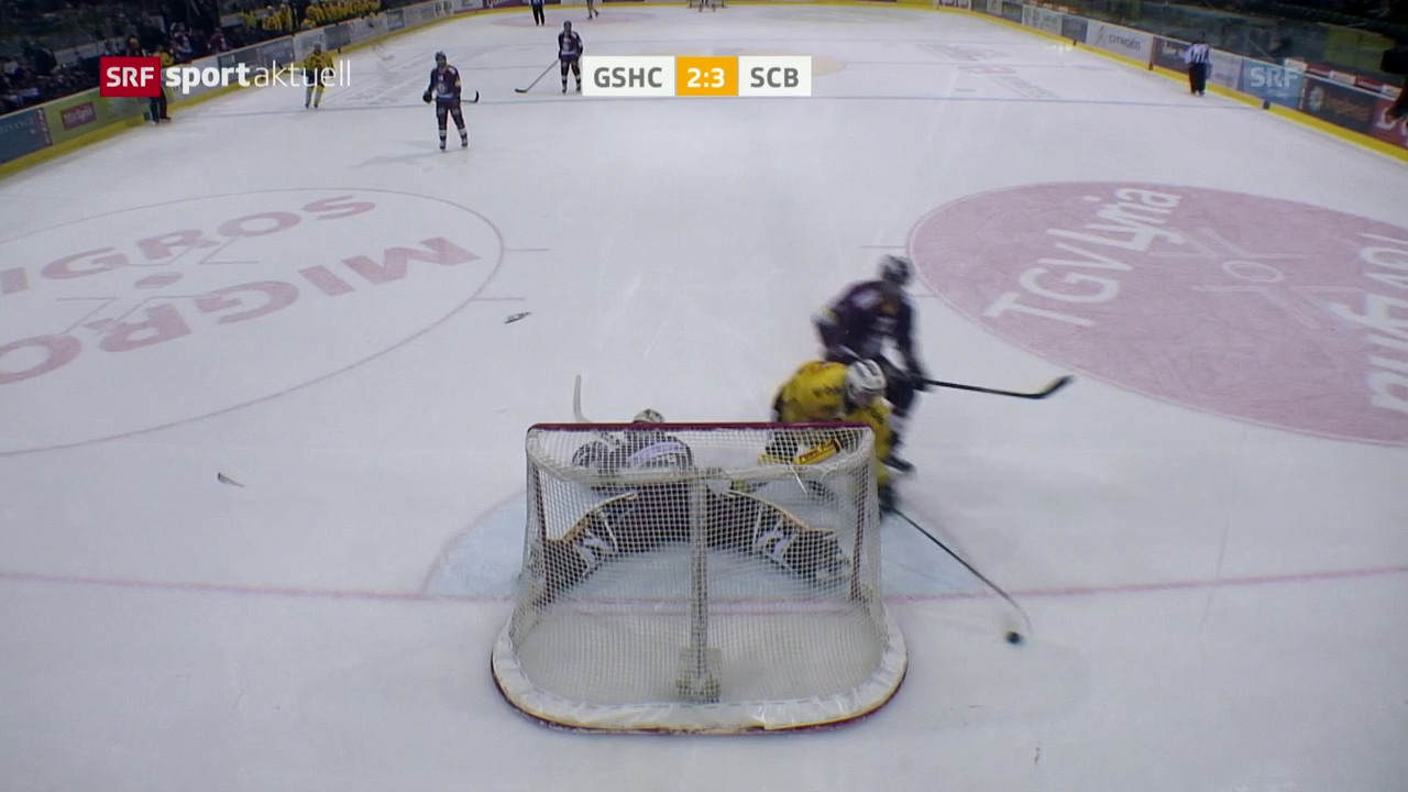 Der SCB siegt in Genf in der Overtime