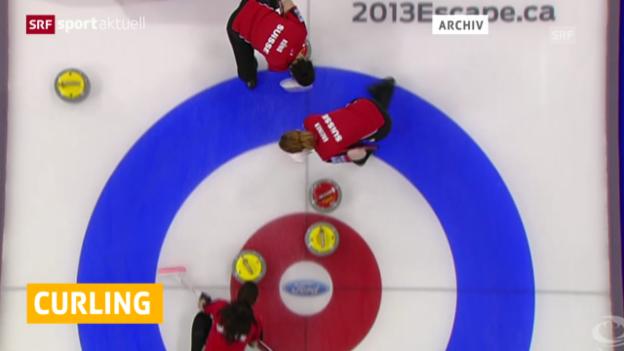 Video «Curling: Zusammenfassung erster EM-Tag» abspielen