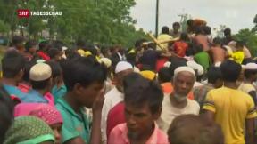 Video «UNO-Sicherheitsrat berät über Gewalt in Burma» abspielen
