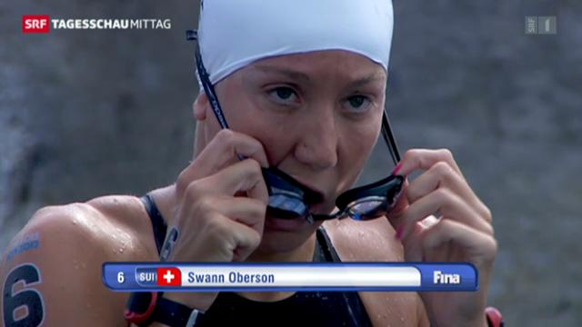 Swann Oberson verpasst Medaille («tagesschau»)