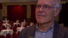 Video «Moritz Leuenberger: Der alt Bundesrat als Conferencier» abspielen