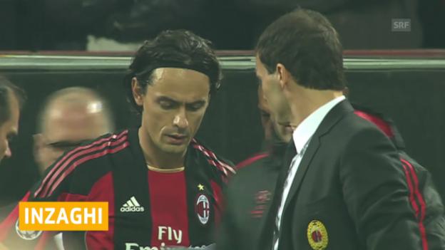Video «Inzaghi neuer Milan-Coach» abspielen