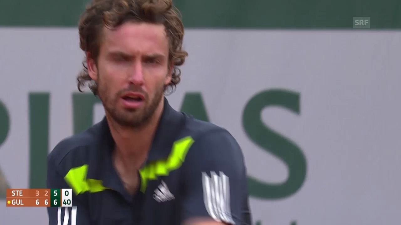Tennis: French Open, 3. Runde, Gulbis-Stepanek, Highlights