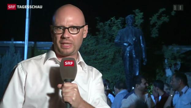 Video «SRF-Korrespondent Pascal Weber in Suruç» abspielen