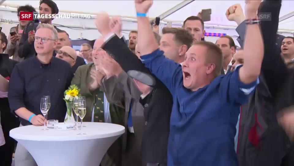 AfD feierte Wahlerfolg in Mecklenburg-Vorpommern
