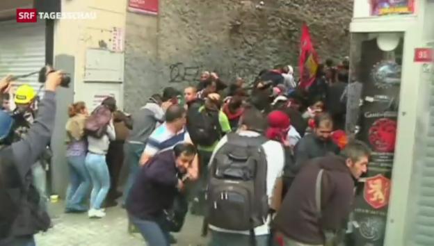 Video «Proteste in der Türkei» abspielen