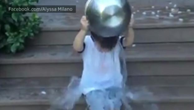 Video «Milo Bugliaris Ice Bucket Challenge (Englischer Originalton)» abspielen