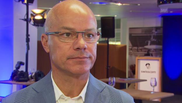 Video «Heinz Herren, Swisscom: «W-Lan ist nur Ergänzung»» abspielen