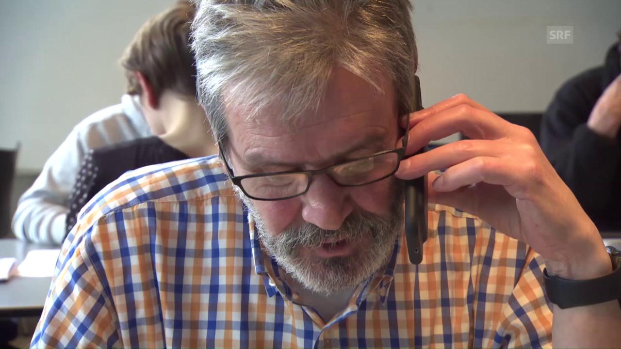 Roberto Zanettis Wahlkampf am Telefon
