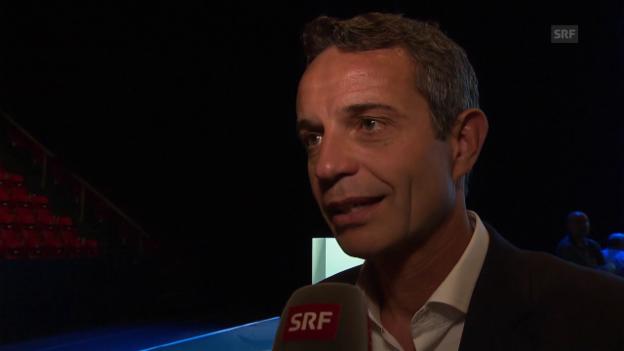 Video «Bernhard Heusler über die Machtübergabe beim FC Basel» abspielen