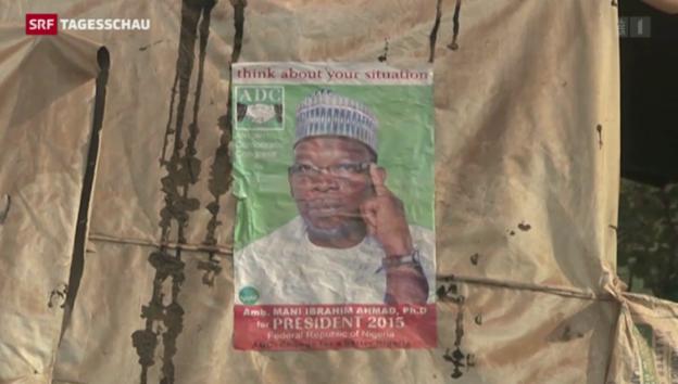 Video «Nigeria verschiebt Wahlen wegen Boko Haram» abspielen