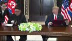 Video «Donald Trump meets Kim Jong-Un» abspielen