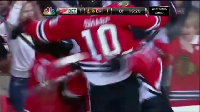 Eishockey: Chicago - Detroit, die Tore