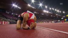 Video «Leichtathletik-EM: Gold für Kariem Hussein» abspielen