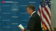 Video «Kurze Hoffnung auf Shutdown-Lösung» abspielen
