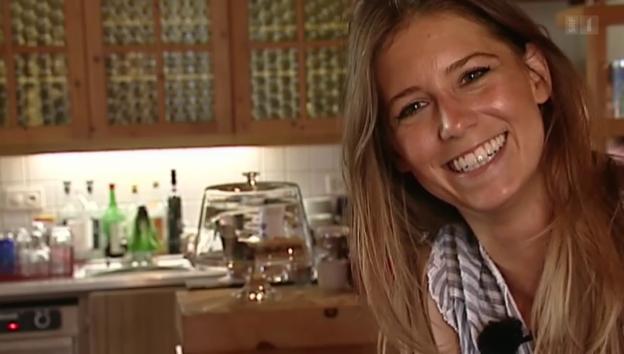Video «Annina Campell ist Mutter geworden» abspielen