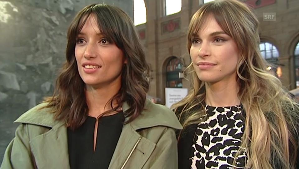 Melanie Winiger und Blanda Eggenschwiler über ihr Leben als Promis