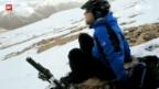 Video «Mit dem Mountainbike auf 6100 m. ü. M.» abspielen