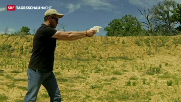 Video «Tödliche Waffen aus dem Drucker» abspielen