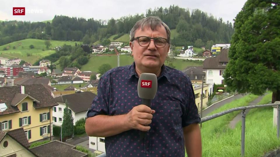 Korrespondent Holzgang: «Bei diesem Unwetter war der Schaden vergleichsweise minim»