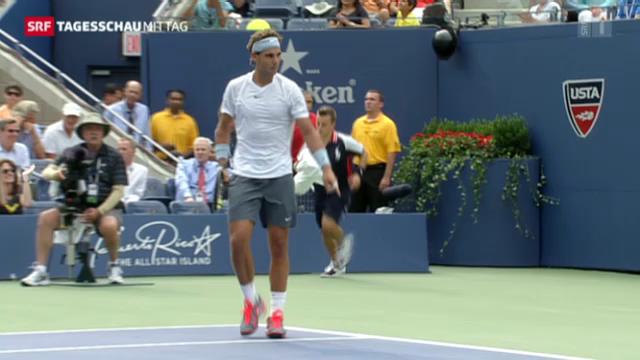 Nadal eine Runde weiter