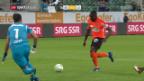 Video «St. Gallen verliert gegen Lausanne» abspielen