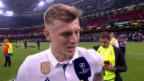 Video «Kroos: «Zweimal in Folge zu gewinnen ist unglaublich» (engl.)» abspielen