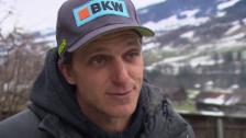 Video «Skicross: Interview mit Mike Schmid» abspielen
