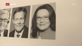 Video «Eine Frau an der Spitze der SPD?» abspielen