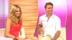 Video «Weekend-Gäste: Jennifer Ann Gerber und Rob Spence» abspielen