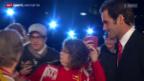 Video «Allgemeines: Roger Federer vor den «Sports Awards»» abspielen